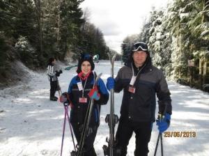 Amei esquiar, vale a pena aprender!